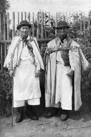 Two Men from Krupina, Slovakia, 1922