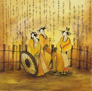 Japanese Dreams 2 by Vaan Manoukian