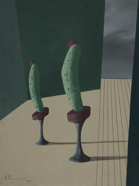 Mr. and Ms. Cucumber by Vaan Manoukian