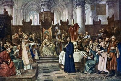 Jan Hus before the Council of Constance, 1415 by Vaclav Brozik