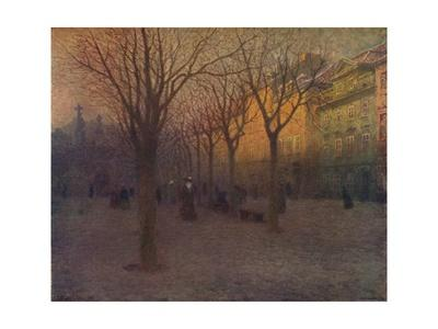 Ostrov Kampa, Prague, c1879-1906, (1906)