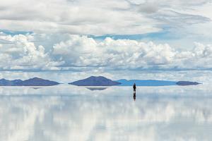 Salar De Uyuni is Largest Salt Flat in the World (Unesco World Heritage Site) - Altiplano, Bolivia, by Vadim Petrakov