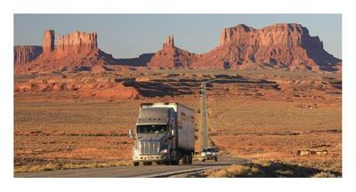 Highway, Monument Valley, USA