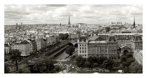Paris Panorama by Vadim Ratsenskiy
