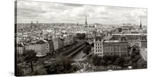Paris Panorama by Vadim Ratsenskiy