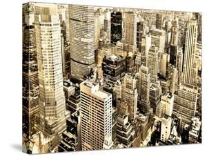 Skycrapers in Manhattan, NYC by Vadim Ratsenskiy