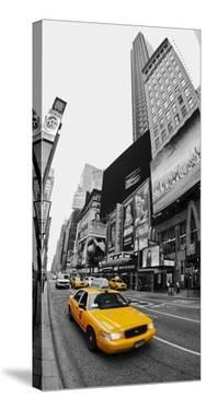 Taxi in Times Square, NYC by Vadim Ratsenskiy