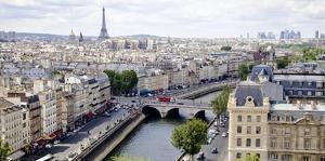 View of Paris by Vadim Ratsenskiy
