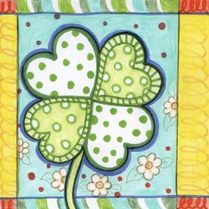 Polka Dot Clover by Valarie Wade