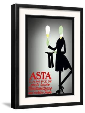 Asta Lampen by Valdemar Andersen