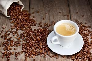 Coffee Cup With Beans by Valengilda