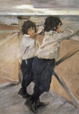 Children by Valentin Aleksandrovich Serov