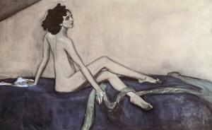 Ida Rubenstein, c.1910 by Valentin Aleksandrovich Serov