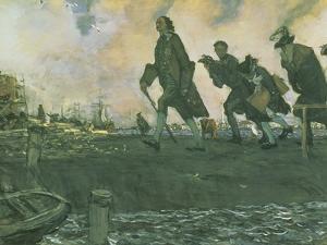 Peter I the Great (1672-1725) 1907 by Valentin Aleksandrovich Serov