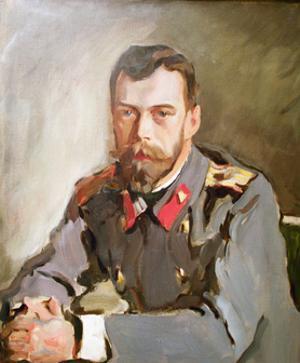 Portrait of Emperor Nicholas II, 1900 by Valentin Aleksandrovich Serov