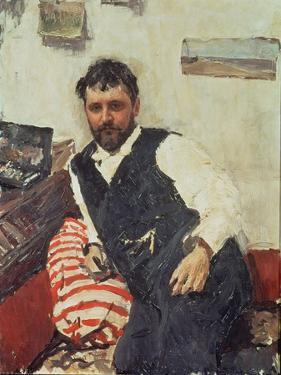 Portrait of Konstantin Korovin by Valentin Aleksandrovich Serov