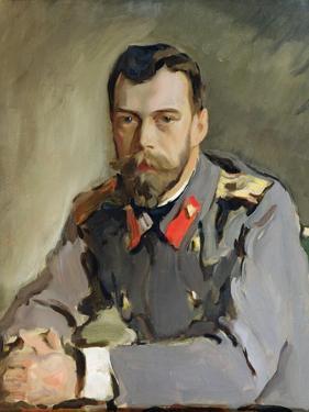 Portrait of Nicholas Ii, 1900 by Valentin Aleksandrovich Serov