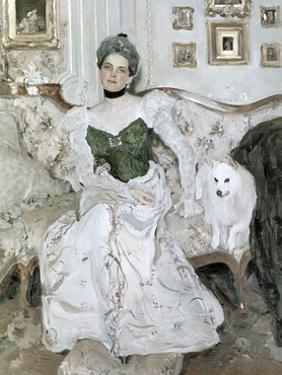 Portrait of Yusupova, 1902 by Valentin Aleksandrovich Serov