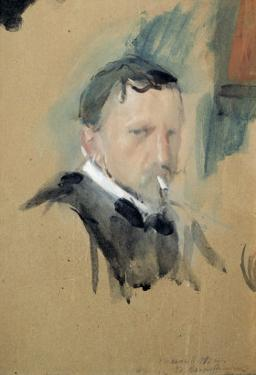 Self Portrait, 1901 by Valentin Aleksandrovich Serov