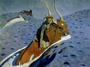 The Rape of Europa, 1910 by Valentin Aleksandrovich Serov