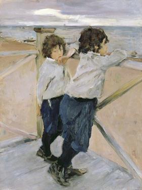 Two Boys, 1899 by Valentin Aleksandrovich Serov