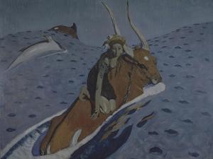 The Rape of Europa by Valentin Alexandrovich Serov