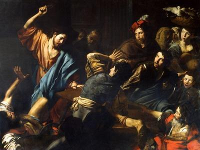 Christ Driving the Money-Lenders from the Temple