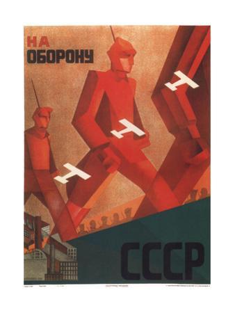 In Defense of the U.S.S.R. by Valentina Nikiforovna Kulagina
