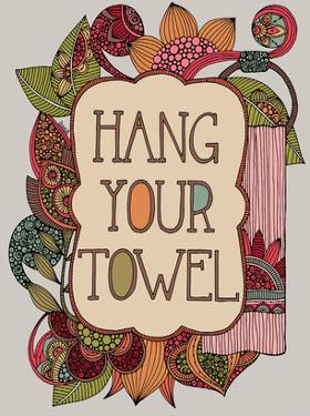 Hang Your Towel by Valentina Ramos