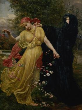 At the First Touch of Winter, Summer Fades Away by Valentine Cameron Prinsep