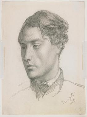 Portrait of a Young Man, 1860 by Valentine Cameron Prinsep