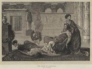 The Death of Cleopatra by Valentine Cameron Prinsep