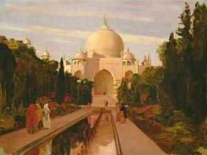 The Taj Mahal, 1877 by Valentine Cameron Prinsep