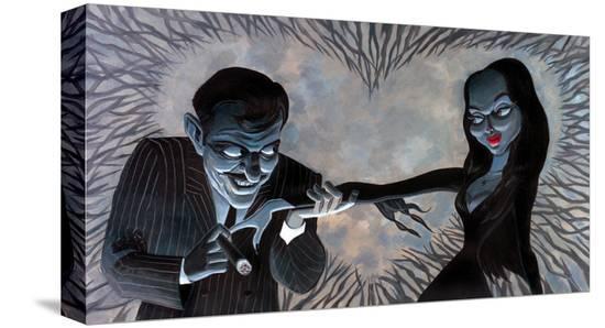 Valentine Lust-Bob Lizarraga-Stretched Canvas