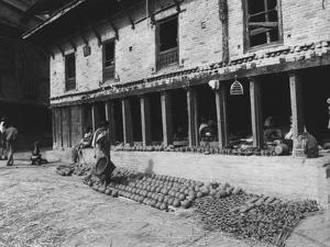 Nepal Bhaktapur by Valentine Ward Evans