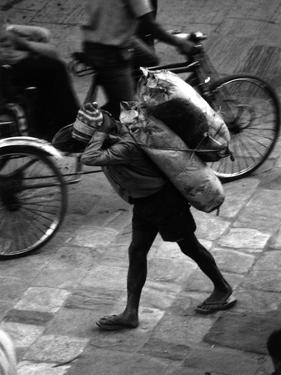 Nepal Kathmandu by Valentine Ward Evans