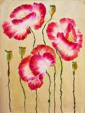 Red Poppies. Oil Painting by Valenty