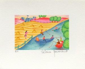La Pêche En Rivière by Valérie Hermant