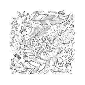 Botanical 17 by Valerie McKeehan