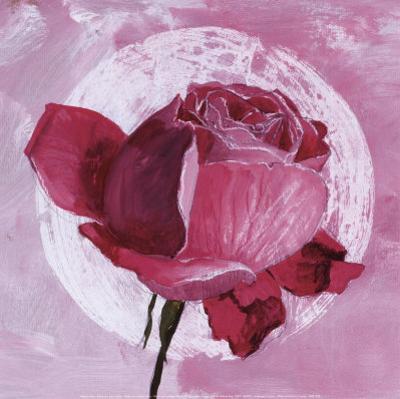Rose Sur Pois Blanc