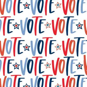 Vote Pattern by Valerie Wieners