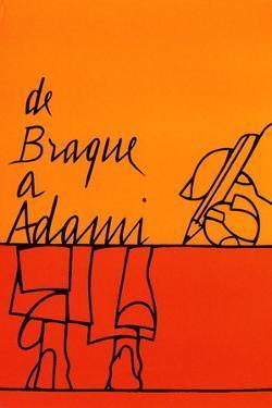 De Braque à Adami by Valério Adami