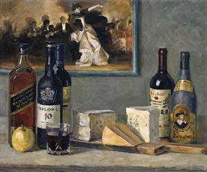 Cheese and Wine by Valeriy Chuikov