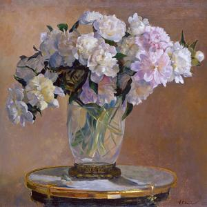 Composition with Peonies by Valeriy Chuikov