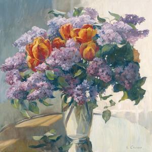 Lilacs by Valeriy Chuikov