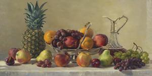 Still Life With Fruit by Valeriy Chuikov