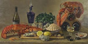 Still Life With Lobsters by Valeriy Chuikov