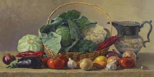 Still Life With Vegetables by Valeriy Chuikov