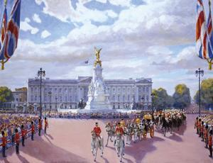 Trooping the Colour by Valeriy Chuikov