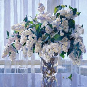 White Lilac by Valeriy Chuikov